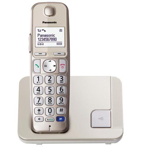 Panasonic KX-TGE210 - Teléfono fijo inalámbrico