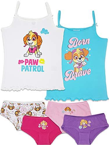 Paw Patrol 6-TLG. Mädchen Unterwäsche-Set (110/116 (Herstellergröße 4-5 Jahre))