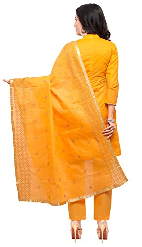 Ethnicjunction-Womens-Cotton-Lehanga-Choli-EJ1180-88025-Orange-Free-Size