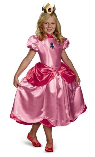 Prinzessin Peach Kostüm für Mädchen Prestige