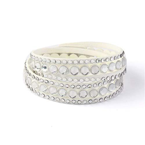 Daawqee Pulseras Fashion Jewelry Leather Bracelet Wrap...