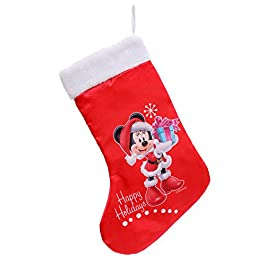 Ciao Calza Natale Disney Minnie, Rosso, S 90912