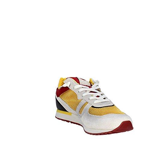 Lotto Leggenda S8840 Sneakers Homme Suède/tissu Blanc Ghiaccio