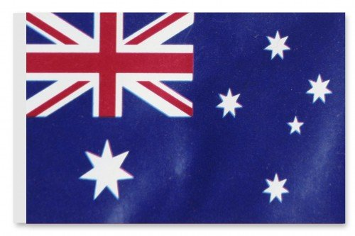 World of Football Fahne Australien
