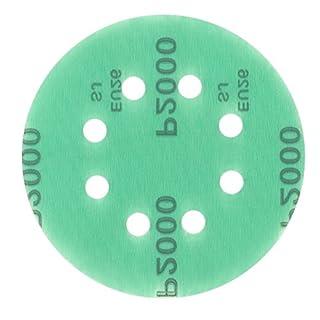1 Stück 125 mm Exzenter Schleifscheiben, passend für Bosch GEX 125-1 AE P1000 Körnung, passend für Bosch GEX 125-1 AE green Film