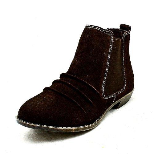 SendIt4me , Chaussures bateau pour femme Marron Marron Marron
