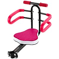 4484 Asiento para la bicicleta delantero con el asiento blando de hasta 30 kg - Fucsia