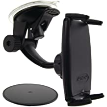 Arkon Windshield/Dashboard Mount for Most Smartphones - Retail Packaging - Black