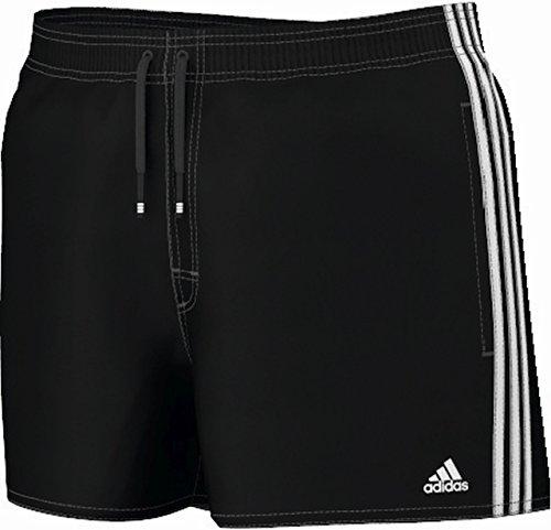 adidas Performance Herren Badeshorts schwarz/weiß