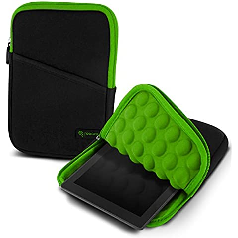 rooCASE – Funda para Apple iPad Mini 3 (2014) Mini 2 con pantalla retina (2013), Kindle Fire HD 6 & 7, Galaxy Tab 3 & 4 (7.0 8.0, Google Nexus 7 FHD Super Bubble Funda de transporte de