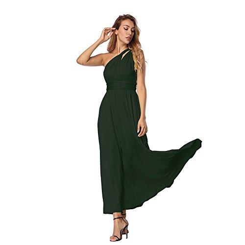 Kleider Damen Rockabilly Kleid Elegante Kleider Lange Kleider Frauen Sommer Festliche Damenkleider...