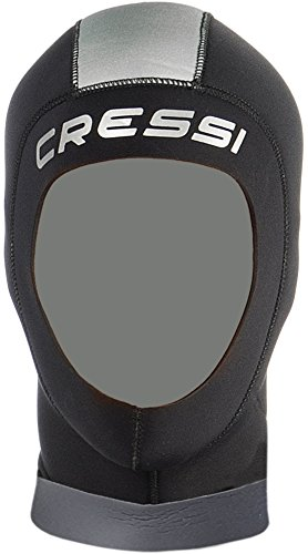 Cressi Hood Man - Neopren 5mm Kopfhaube Herren - Ausgezeichnette Passform
