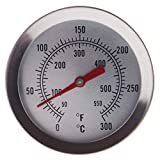 Kylewo Term/ómetro para fre/ír Candy Sugar Thermometer para cocinar con Longitud de sonda de Acero Inoxidable Temperatura /óptima para fre/ír
