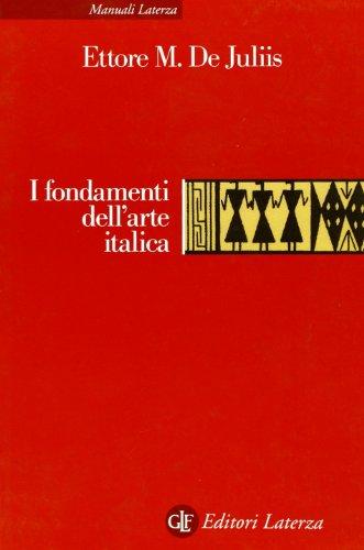 I fondamenti dell'arte italica