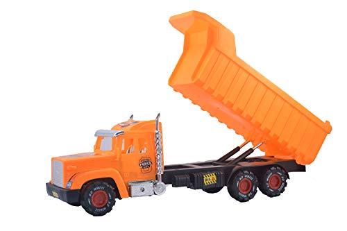 Lukas Dumper Truck for Kids, Dump Truck for Kids, Push and Go Toy for Kids, Dumping Truck Toy, Big