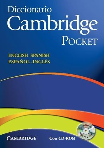 Diccionario Bilingue Cambridge Spanish-English Pocket Edition [With CDROM]
