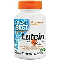 Doctor's Best | Lutein mit Optilut | 10 mg | 120 vegane Kapseln | hochdosiert | bioverfügbare Lutein-Ester und... preisvergleich bei billige-tabletten.eu