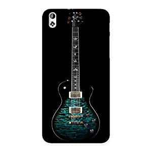The Greenish Guitar Back Case Cover for HTC Desire 816s
