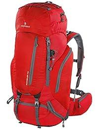 Ferrino Rambler - Mochila de senderismo, 75 l, Unisex adulto, Rambler 75, rojo, Large