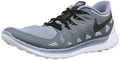 Nike Men's Free 5. 0 Cool Blue/Black/Wolf Grey Running Shoe 10. 5 Men US