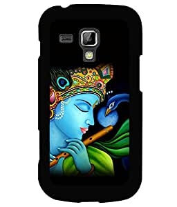 printtech Lord God Krishna Flute Back Case Cover for Samsung Galaxy S Duos S7562