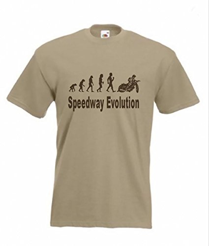 Art2tshirt Evolution To Speedway t-shirt Motorcycle speedway Funny T-shirt sizes Sm To 2XXL