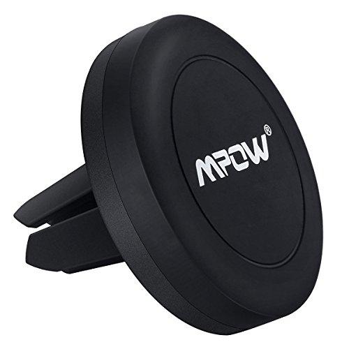 Izideal Kfz MPOW® Grip Magic Air Vent Support Auto Magnetisch, Magnet Universal, zur Befestigung Gitter Belüftung KFZ Halterung kompatibel mit iPhone, Samsung Galaxy, LG, Huawei, Wiko und die Anderen Smartphones, GPS