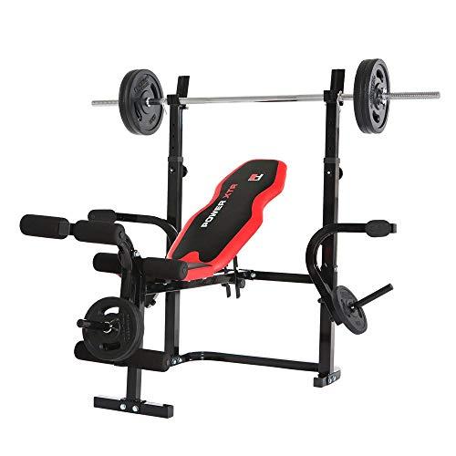 HAMMER Hantelbank Power XTR - Für voluminöse Brustmuskeln, mega Sixpack, beeindruckende Schultermuskulatur, breites V-Kreuz