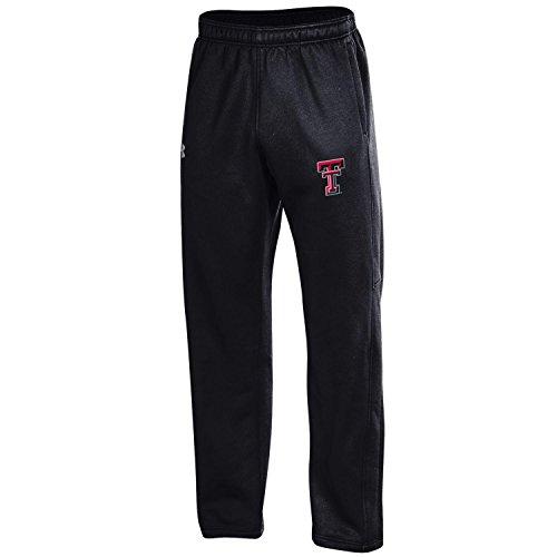 Under Armour Herren NCAA Fleece Hose, Herren, Armour Fleece Pant, schwarz -