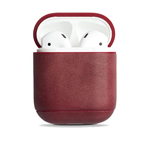 Krusell Sunne AirPod Case Apple AirPods Vintage rot