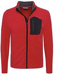 Napapijri Herren ZIP-through Tambo sweatshirt Rot