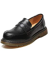 fad0ebc9dc29c DANDANJIE Mocassini da Donna Retro College Studentesse Stile Uniforme Mary  Jane Shoes