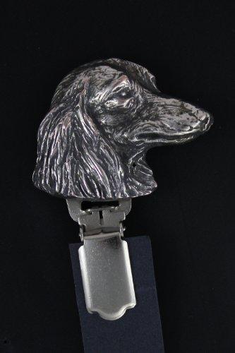 Teckel, Dachshund (long haired), Hund, Hund clipring, Hundeausstellung Ringclip/Rufnummerninhaber, limitierte Auflage, Artdog
