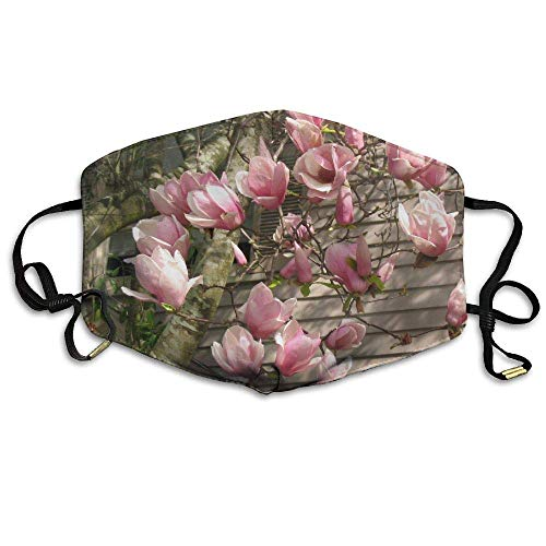 Japanese Magnolia Flowers Anti Dust Breathable Face Mouth Mask for Man Woman Magnolia Flower Bowl
