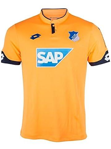 Lotto TSG Hoffenheim - Kinder Third Jersey Ausweichtrikot 17/18 - T2612, Größe:XS = 116