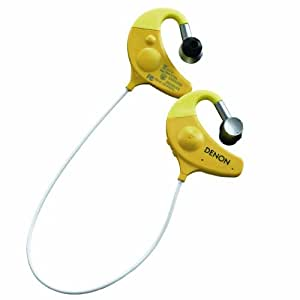 Denon AH-W150 Bluetooth Fitness Sports In-Ear Headphones - Yellow