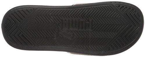 Puma Popcat Fif, Chaussures de Plage et Piscine Femme Noir - Schwarz (puma black-puma BLACK-GOLD 01)