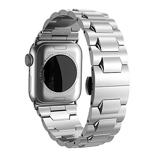 Hoco. band per apple watch strap series 4321-iwatch cinturino di ricambio in acciaio inox, cinturino per apple watch series 4series 321