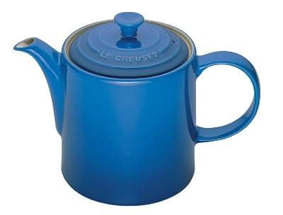 Le Creuset Grande théière en céramique Bleu 1,3 l