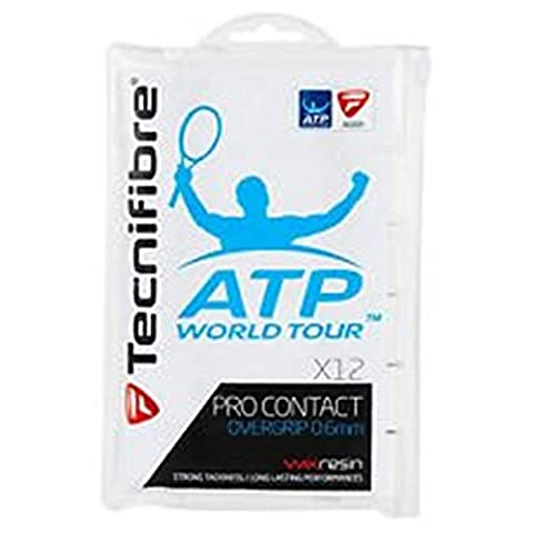 Tecnifibre ATP X-Tra Full Replacement Grip, Color- White