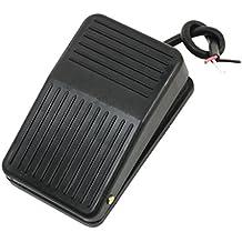 TOOGOO(R) 220V 10A Interruptor del pedal del pie de energia electrica momentaneo plastico