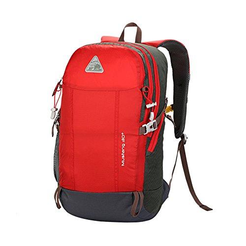 Zaino Outdoor/borsa sportiva/Pacchetti turistici/pacchetto ciclistico-rosso rosso