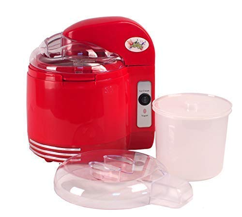 Lickleys 2-in-1 Parent - Rouge, 2-in-1 Ice Cream & Yogurt Maker