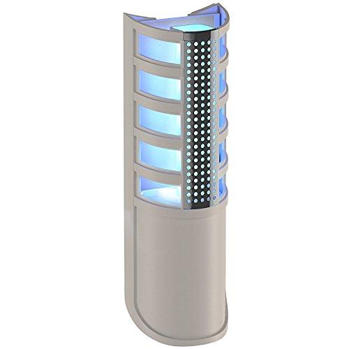 Fly Trap Combo Fliegenfalle mit UV-Lampe mit Klebepanel - elektrische Laterne lässt sich direkt an der Steckdose Insektizid kleben, fängt den Ofen Moskitonetz (Uv-ofen)