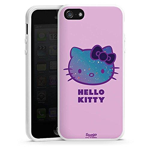 DeinDesign Silikon Hülle kompatibel mit Apple iPhone 5s Case Schutzhülle Hello Kitty Merchandise Fanartikel Universe