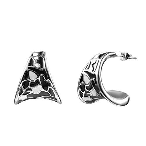 Yslin Elegant Ohrringe Einfach Ohrstecker Fashion Earrings Edelstahl Eardrop Modeschmuck Frau Modeschmuck Mode Baumeln Geschenk Für Frauen