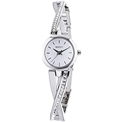 DKNY (DNKY5) Women's Quartz Watch with Silver Dial Analogue Display and Silver Stainless Steel Bracelet NY2173
