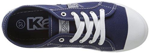 KappaKeysy - Scarpe da Ginnastica Basse Donna Blu (Bleu (Dk Blue))