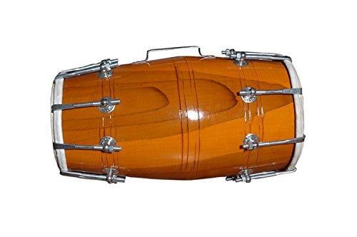 Holz Dholak Indian Folk Musikinstrument Trommel Nuts N Bolzen