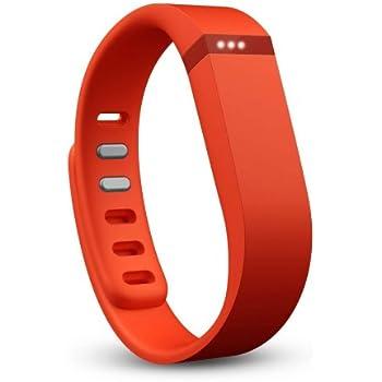 Fitbit Flex Braccialetto Monitoraggio Sonno e Attività Fisica, Mandarino